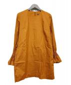 marimekko(マリメッコ)の古着「ブラウスワンピース」|ブラウン