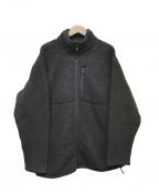 FAT(エフエーティー)の古着「フリースジャケット」 ブラック