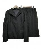 BURBERRY LONDON()の古着「セットアップスカートスーツ」 ブラック