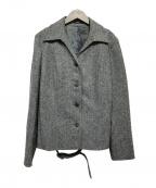 BURBERRY LONDON()の古着「ツイードジャケット」|グレー