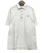 BURBERRY BLACK LABEL(バーバリーブラックレーベル)の古着「ポロシャツ」|ホワイト