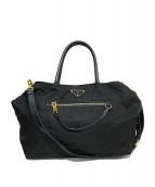 PRADA(プラダ)の古着「ナイロン2WAYバッグ」|ブラック