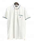 CORNELIANI(コルネリアーニ)の古着「ポロシャツ」|ホワイト