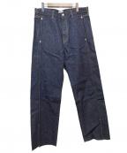 kaiko(カイコー)の古着「BUG DENIM PANT ONE WASH」|インディゴ
