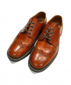 Locking shoes()の古着「ウィングチップシューズ」|ブラウン