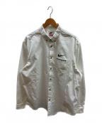 SUPREME × NIKE(シュプリーム × ナイキ)の古着「コットンツイルシャツ」|ホワイト