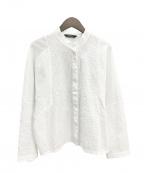 YACCO MARICARD(ヤッコマリカルド)の古着「Cotton Lawn Shirt」|ホワイト