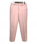 LOUNIE(ルーニー)の古着「センタープレスパンツ」 ピンク