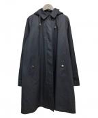 Burberrys()の古着「フーテッドステンカラーコート」|ネイビー