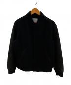 SUPREME()の古着「モーションロゴヴァーシティジャケット」 ブラック
