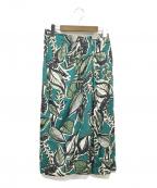 TOMORROW LAND()の古着「スカート」|グリーン