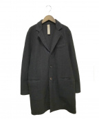 eleventy(イレブンティ)の古着「チェスターコート」 ブラック