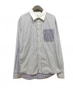VISVIM(ビズビム)の古着「切替シャツ」 ホワイト