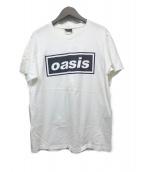 wall of fame(ウォールオブフェイム)の古着「バンドTシャツ」 ホワイト