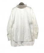 ODORANTES nano・universe()の古着「プルオーバーシャツ」 ホワイト