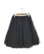 Rene(ルネ)の古着「チュールスカート」|ブラック
