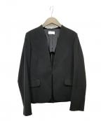 PLST(プラステ)の古着「ノーカラージャケット」|ブラック