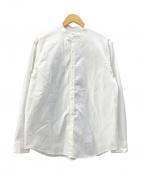 EDIFICE(エディフィス)の古着「タイプライターバンドカラーシャツ」 ホワイト