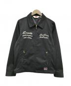 BEN DAVIS(ベンデイビス)の古着「Zip Work Jacket」|ブラック