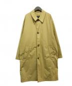 BOSS HUGO BOSS(ボスヒューゴボス)の古着「ステンカラーコート」|ベージュ