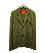 ISAIA(イザイア)の古着「カシミヤアンコンジャケット」 グリーン