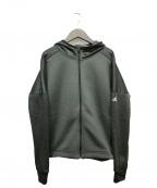 adidas(アディダス)の古着「M4Tクライマウォーム スウェットフードジャケット」|グリーン