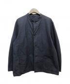 COMOLI(コモリ)の古着「スタンドカラージャケット」|ネイビー