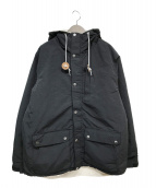 ()の古着「リバーシブルジャケット」 ホワイト×ブラック