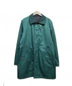 MACKINTOSH PHILOSOPHY(マッキントッシュフィロソフィー)の古着「リバーシブル中綿コート」|グリーン
