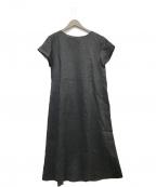 URBAN RESEARCH(アーバンリサーチ)の古着「タックデザインラミーワンピース」|ブラック