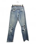 LEVI'S(リーバイス)の古着「60'sヴィンテージデニム」|ライトインディゴ