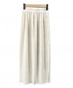 Ron Herman(ロンハーマン)の古着「プリーツスカート」|アイボリー