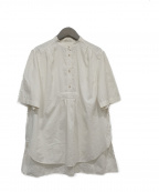 PAUL SMITH(ポールスミス)の古着「シルク混シャツ」 アイボリー