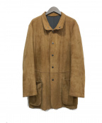 ARMANI COLLEZIONI(アルマーニ コレツィオーニ)の古着「スウェードジャケット」 ブラウン