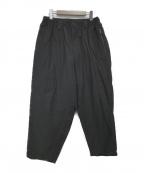 YohjiYamamoto pour homme(ヨウジヤマモトプールオム)の古着「C/Twill Balloon Pants」|ブラック