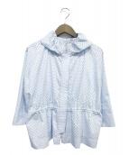 ()の古着「フーデッドジャケット」 スカイブルー