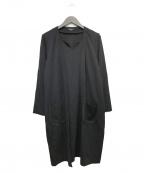 MERION(メリオン)の古着「レイヤードワンピース」 ブラック