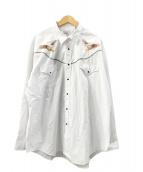 ()の古着「ウエスタンシャツ」|ホワイト