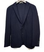 BOGLIOLI(ボリオリ)の古着「ウールジャケット」 ネイビー