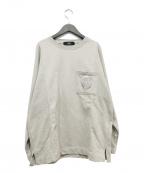 paris saint germain(パリサンジェルマン)の古着「エンブレム刺繍スウェット」 グレー