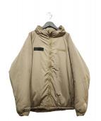 ()の古着「中綿ジャケット」|ベージュ