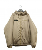 kinetics(キネティックス)の古着「中綿ジャケット」|ベージュ