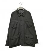NOT CONVENTIONAL(ノットコンベンショナル)の古着「CPOジャケット」|ブラック