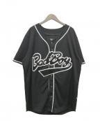 BADBOY(バッドボーイ)の古着「ベールボールシャツ」|ブラック