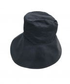 agnes b(アニエスベー)の古着「コットンジャージハット」|ブラック