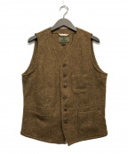NIGEL CABOURN(ナイジェルケーボン)の古着「WAIST COAT」|ブラウン