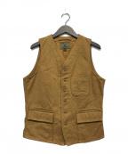 NIGEL CABOURN(ナイジェルケーボン)の古着「DAY WAIST COAT」|ブラウン