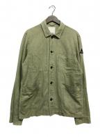Denham(デンハム)の古着「MAO JACKET WLCOTL」 オリーブ