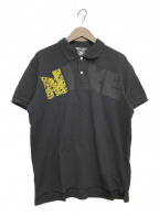 NIKE×COMME des GARCONS HOMME DEUX(ナイキ×コムデギャルソン・オム・ドゥ)の古着「ポロシャツ」|ブラック