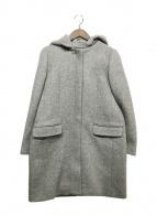 ()の古着「フーデッドコート」|グレー